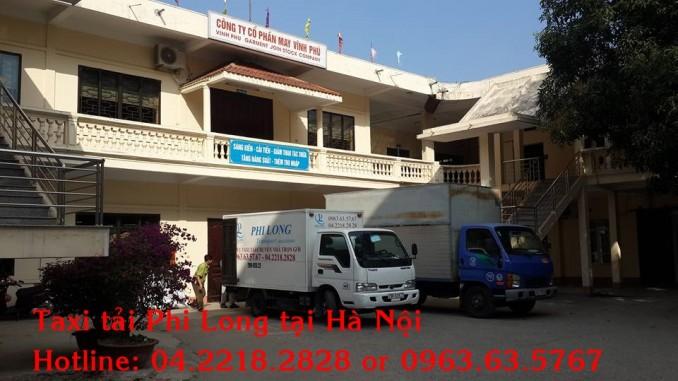 Dịch vụ taxi tải chuyên nghiệp tại phố Phương Liệt