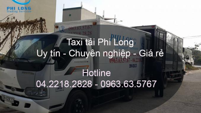 Dịch vụ taxi tải chuyên nghiệp tại phố Bạch Mai