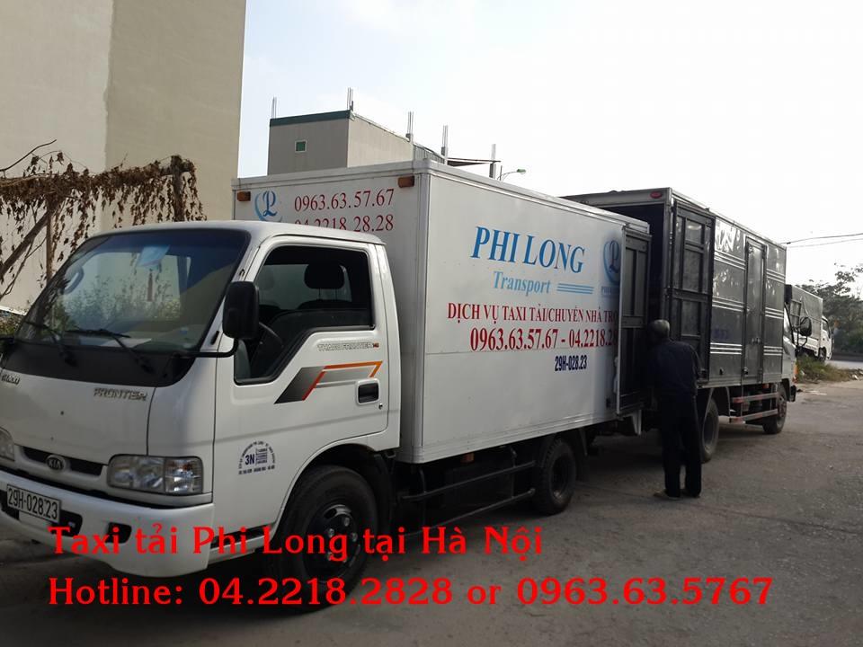 Dịch vụ taxi tải chuyên nghiệp tại phố Nguyễn Viết Xuân