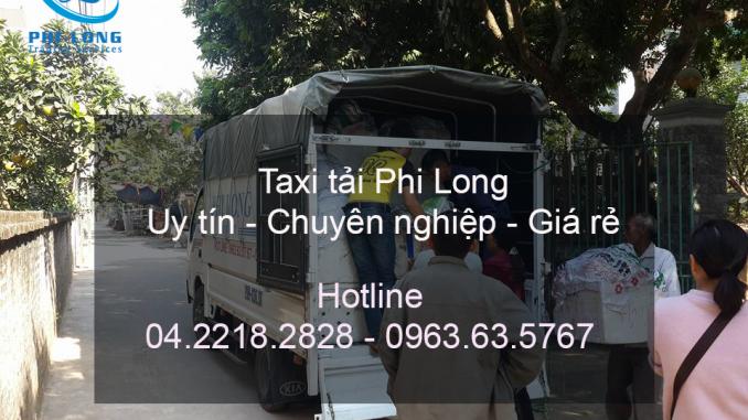 Dịch vụ taxi tải chuyên nghiệp tại phố Vương Thừa Vũ