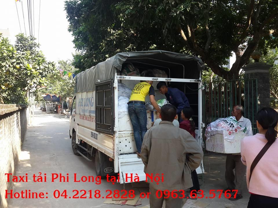 Dịch vụ taxi tải chuyên nghiệp tại phố Trần Điền