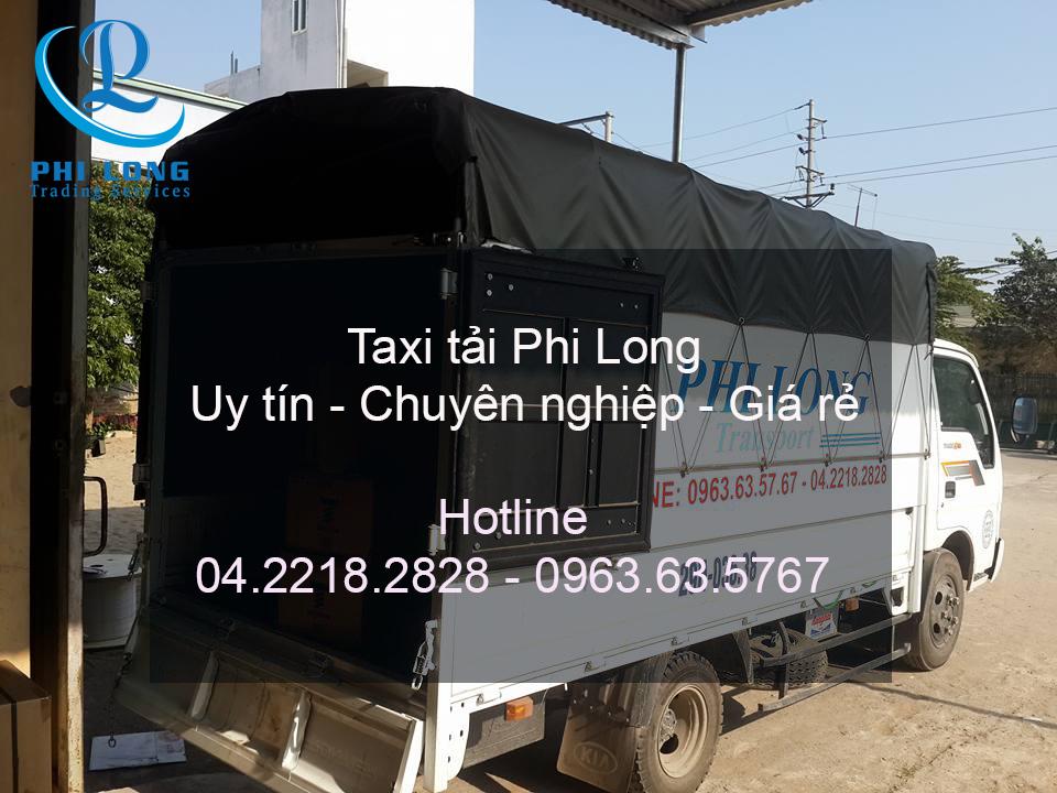 Dịch vụ taxi tải chuyên nghiệp tại phố Bùi Thị Xuân
