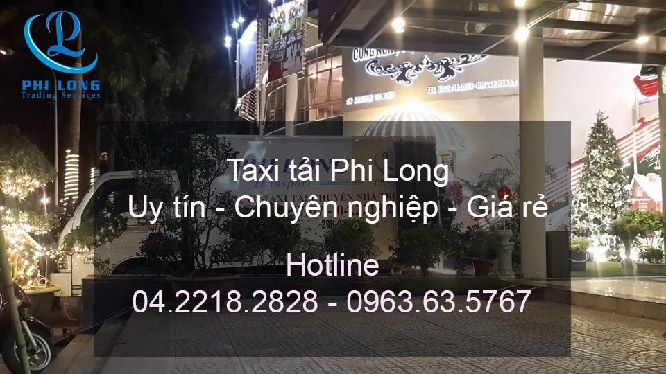 Cho thuê xe tải uy tín tại phố Bùi Ngọc Dương