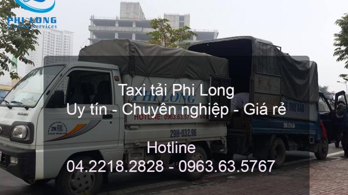 Dịch vụ taxi tải chuyên nghiệp tại phố Vũ Trọng Phụng