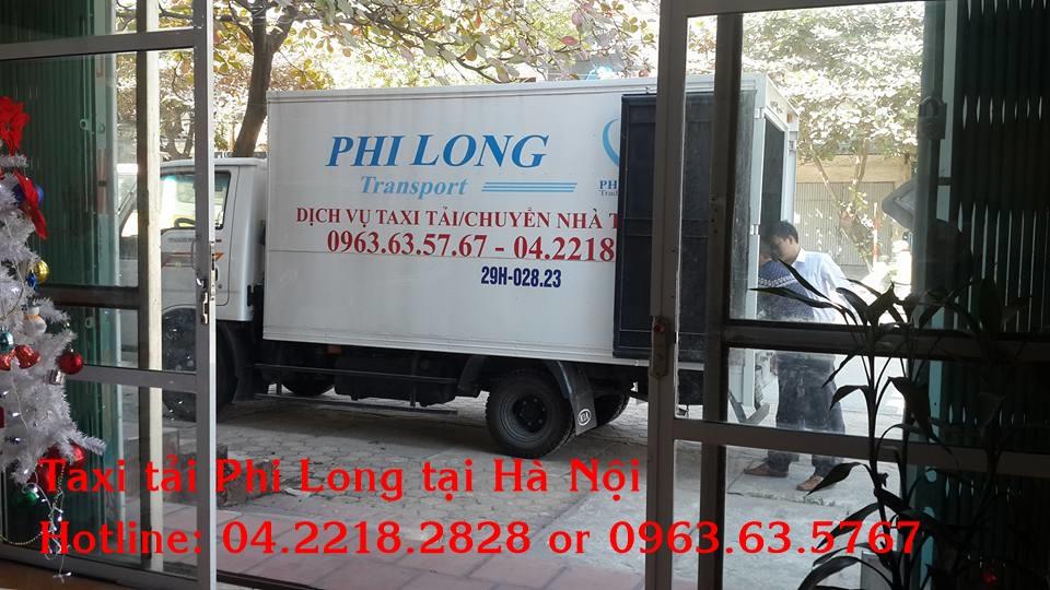 Dịch vụ taxi tải uy tín tại phố Nguyễn Lân