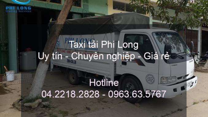 Dịch vụ taxi tải chuyên nghiệp tại phố Bà Triệu