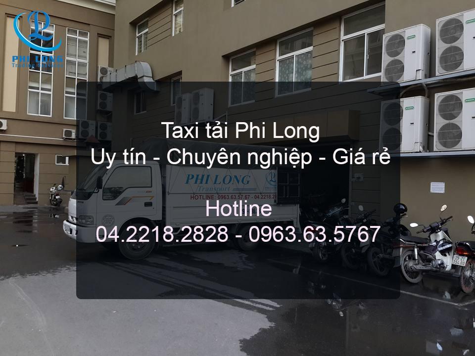 Dịch vụ taxi tải chuyên nghiệp tại phố Bạch Đằng