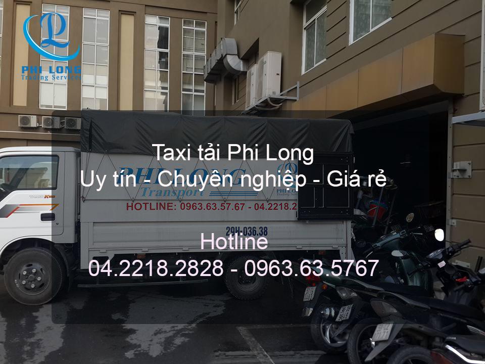 Dịch vụ taxi tải giá rẻ tại phố Vũ Tông Phan