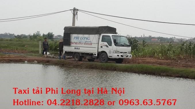 Cho thuê xe tải giá rẻ tại phố Kim Giang
