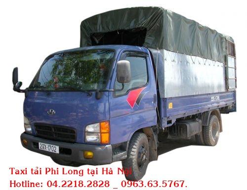 Cho thuê xe tải chuyên nghiệp tại phố Hàng Chuối