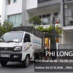 Taxi tải Phi Long nhận chở hàng hóa giá rẻ tại phố Hàng Cháo
