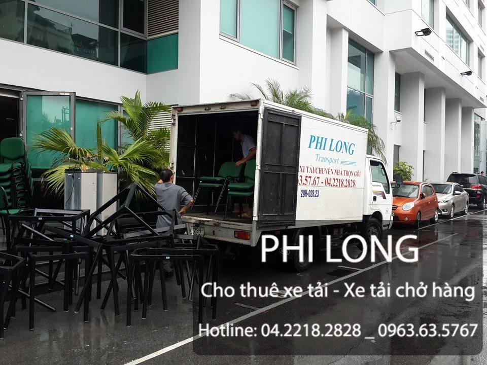 Dịch vụ cho thuê xe tải chuyển nhà giá rẻ tại phố Tây Sơn của Phi Long