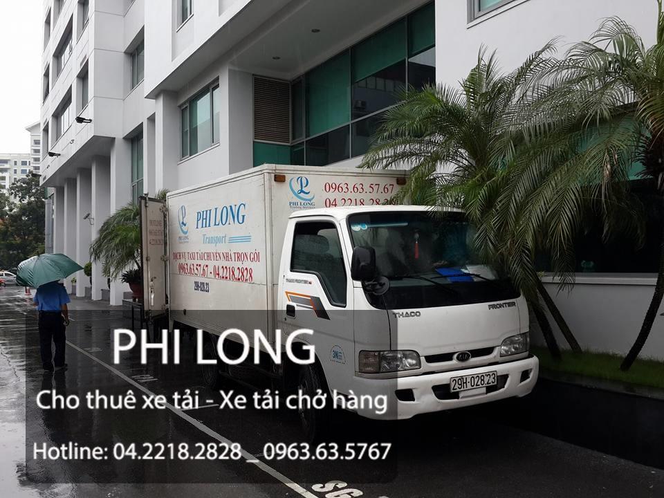 Phi Long cung cấp dịch vụ cho thuê xe tải chở hàng giá rẻ tại phố Cát Linh