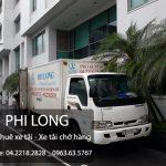 Cho thuê xe tải chở hàng hóa tại phố Tây Sơn
