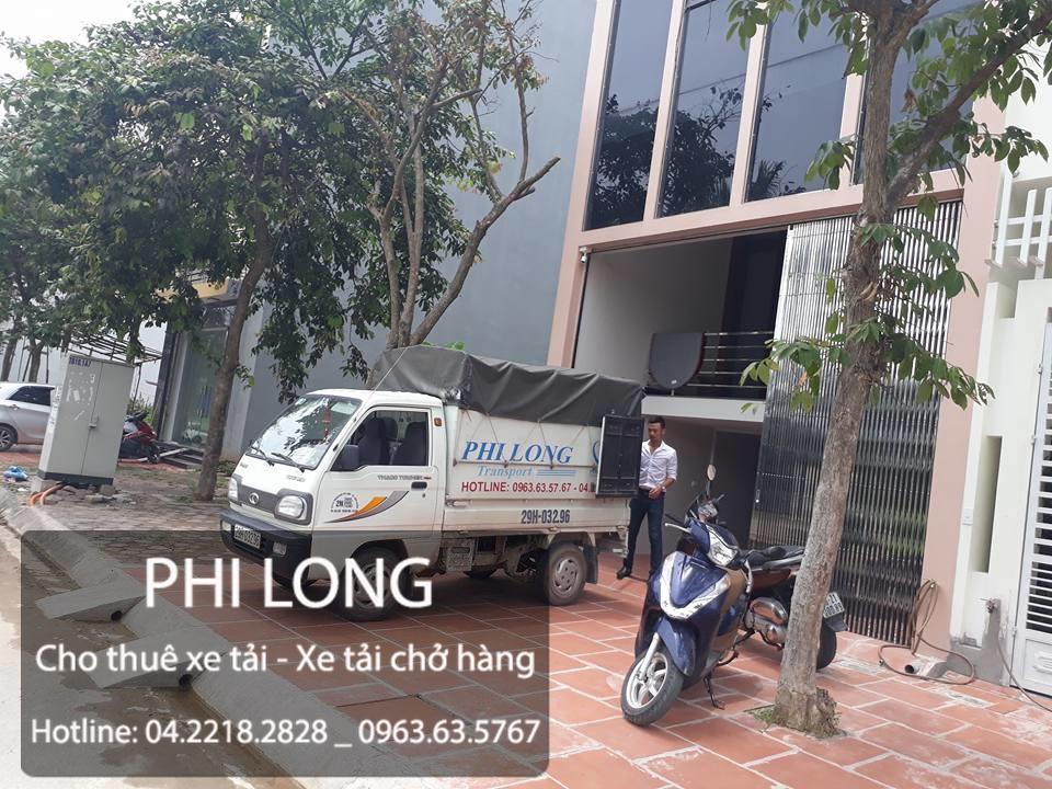Cho thuê xe tải chở hàng tại phố Hàng Cháo