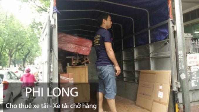 Taxi tải Phi Long chuyển nhà trọn gói chuyên nghiệp tại phố Mai Anh Tuấn