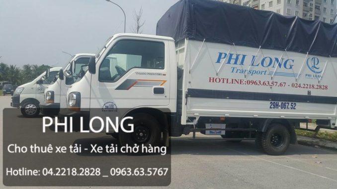 Dịch vụ cho thuê xe tải chuyển nhà chuyển văn phòng giá rẻ tại phố Ngọc Khánh