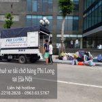 Dịch vụ cho thuê xe tải uy tín tại phố Chu Huy Mân-0963.63.5767