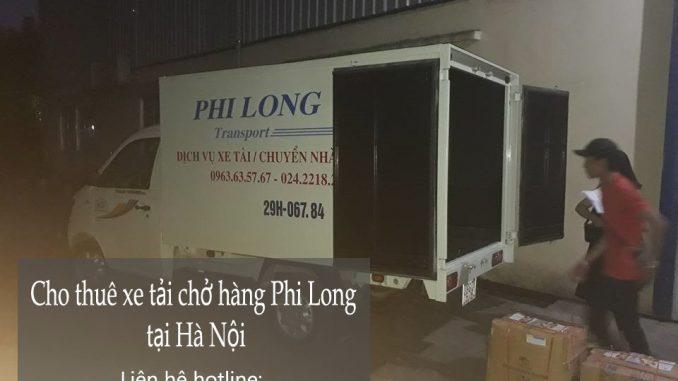 Dịch vụ cho thuê xe tải chở hàng giá rẻ tại phố Nguyễn Công Hoan