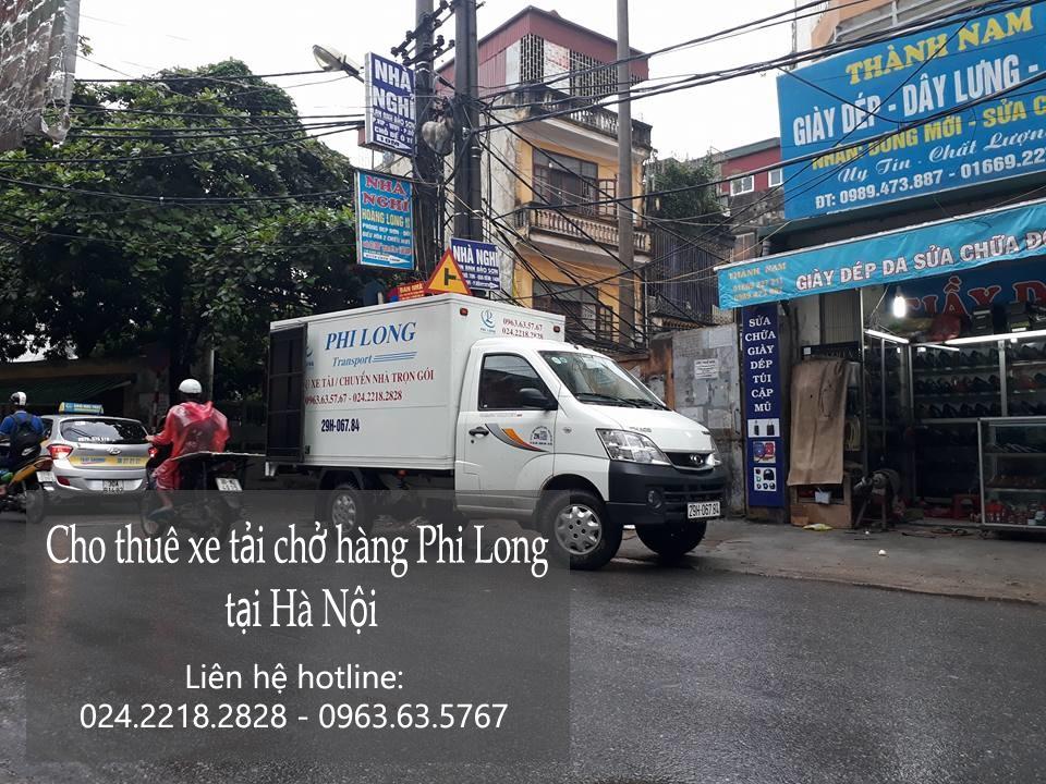 Cho thuê xe tải chở hàng giá rẻ tại phố Hồng Mai - 0963.63.5767