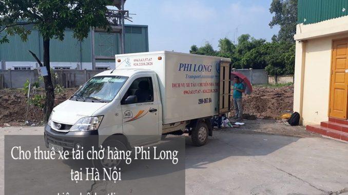 Cho thuê xe tải tại phố Vĩnh Hồ