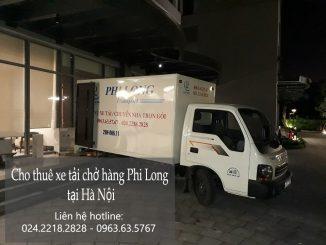 Cho thuê xe tải chuyển nhà, chuyển văn phòng tại phố Gia Quất