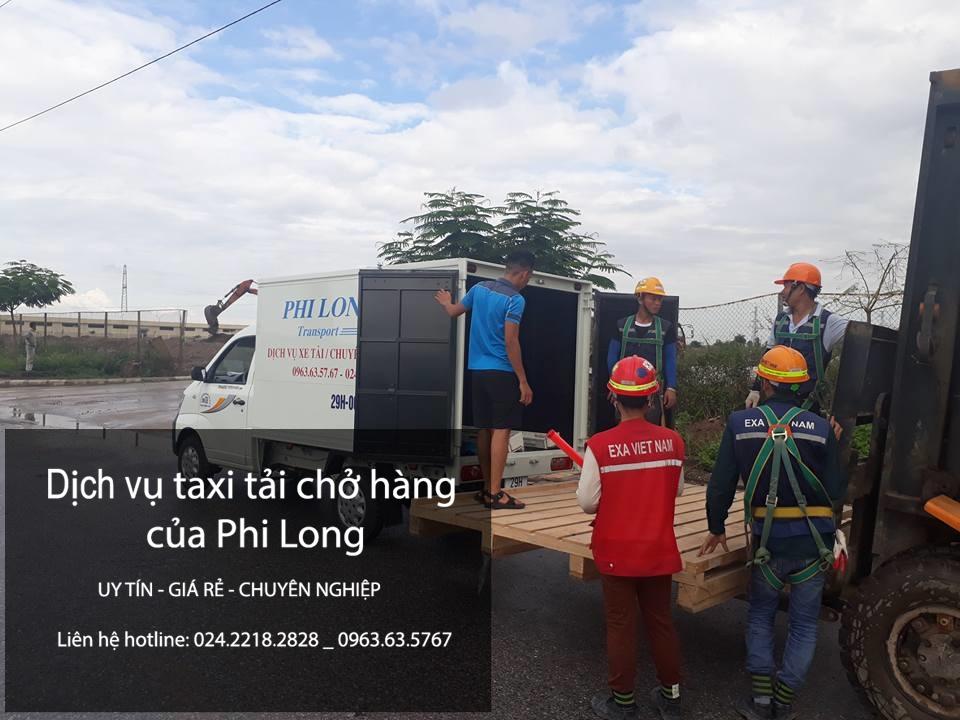Cho thuê xe tải tại phố Yên Nội