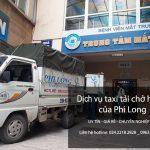 Dịch vụ thuê xe tải tại phố Huỳnh Tấn Phát