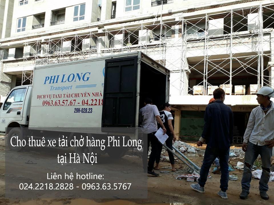 Dịch vụ cho thuê xe tải tại phố Trần Danh Tuyên-0963.63.5767.