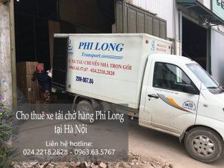 Dịch vụ thuê xe tải giá rẻ tại phố Trần Thủ Độ