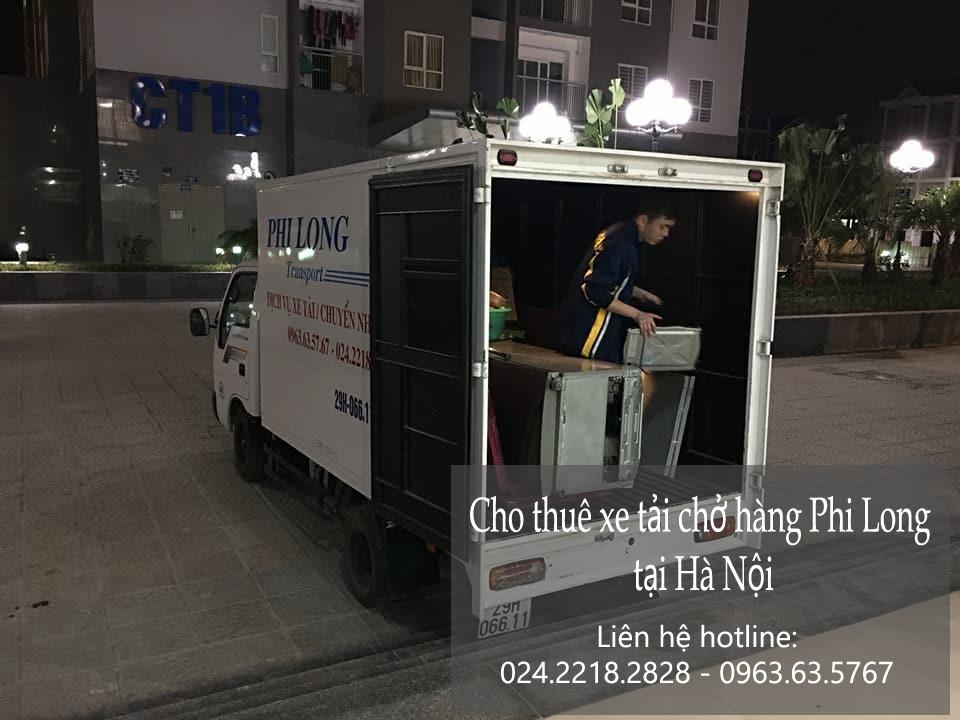 Dịch vụ cho thuê xe tải vận chuyển tại phố Hoàng Tích Trí
