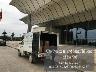 Cho thuê xe chở hàng Hà Nội