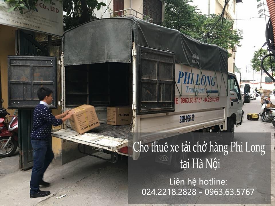 Dịch vụ thuê xe tải chở hàng tại phố Võ Chí Công