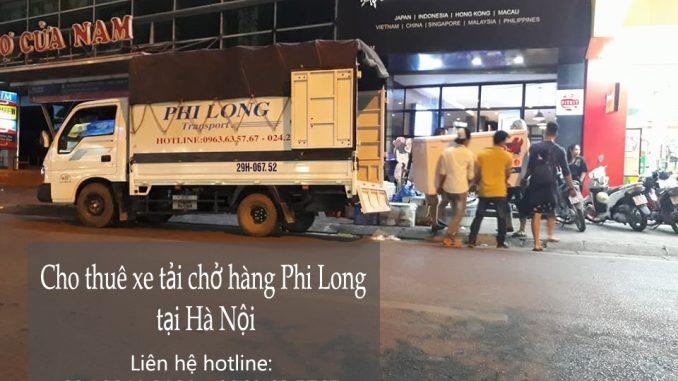 Dịch vụ thuê xe tải tại phố Phú Thượng