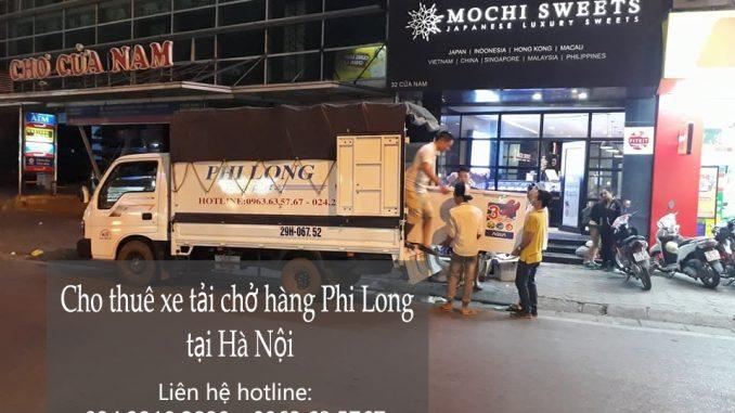 Dịch vụ thuê xe tải vận chuyển tại phố Phó Đức Chính