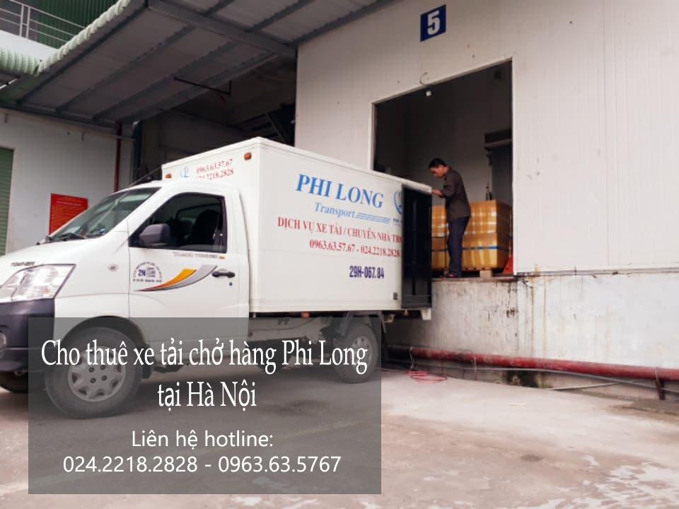 Cho thuê xe tải tại phố Phương Mai