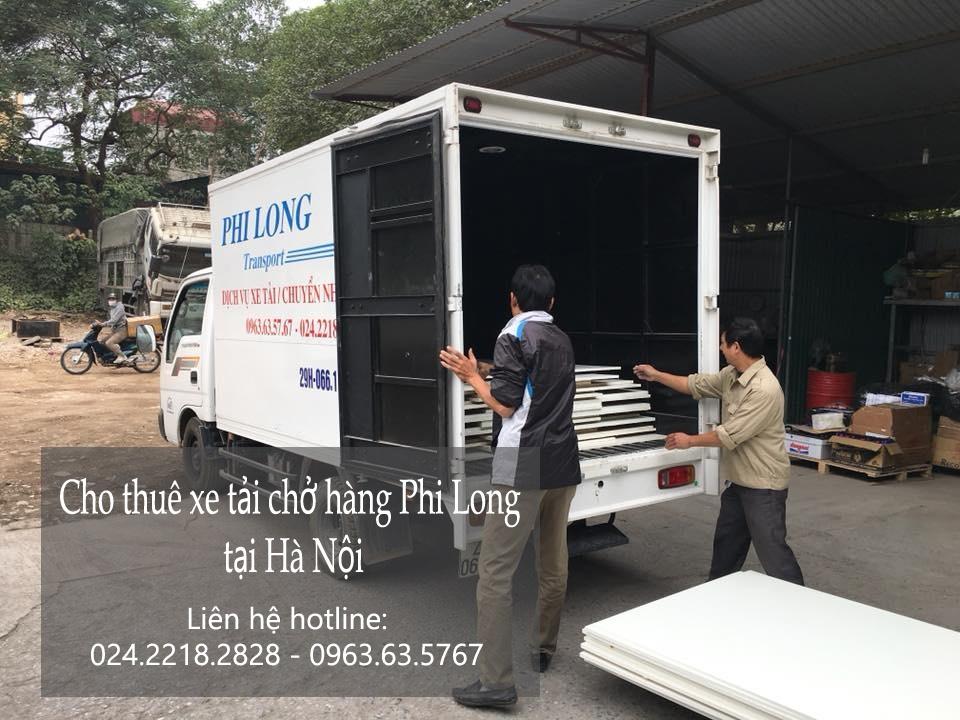 Cho thuê xe tải uy tín tại phố Nguyễn Tri Phương