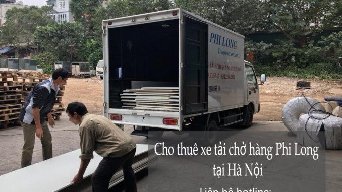 Cho thuê xe tải tại phố Đông Thiên