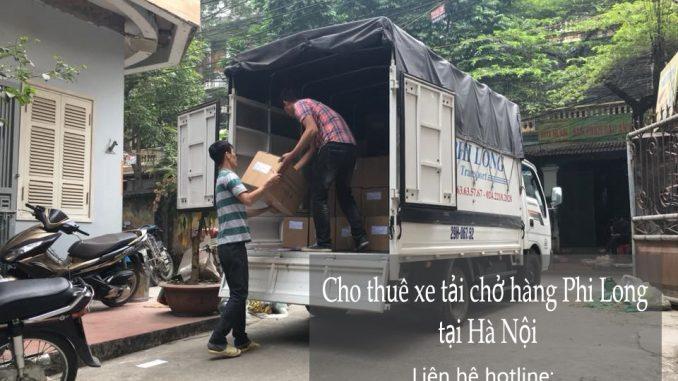 Dịch vụ cho thuê xe tải tại phố Phó Đức Chính