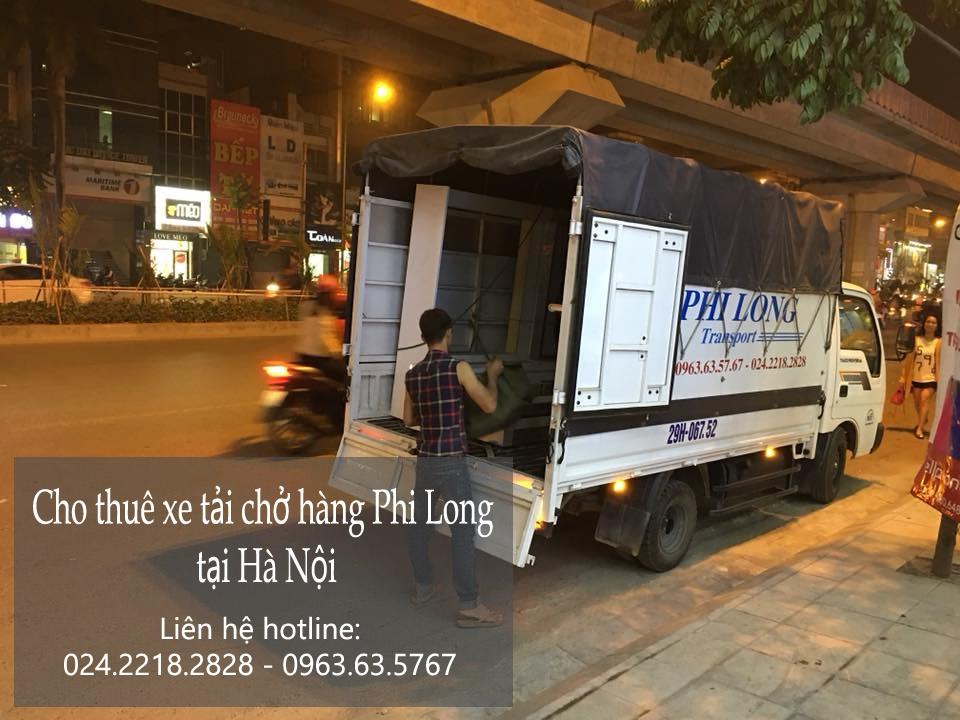 Cho thuê xe tải 1,4 tấn chở hàng tại phố Quỳnh Đô