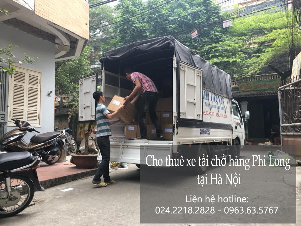Cho thuê xe tải chuyên nghiệp tại Đội Cấn