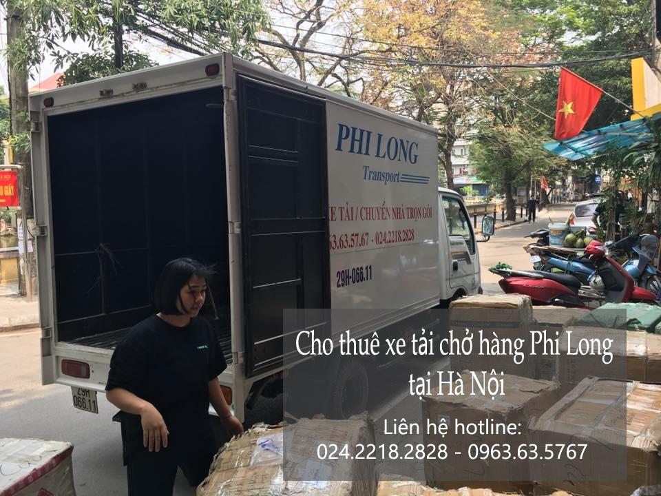 Cho thuê xe tải Hà Nội tại phố Tràng Tiền