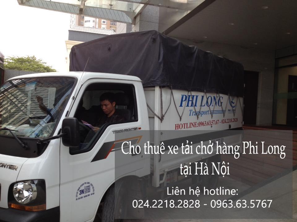 Dịch vụ cho thuê xe tải tại phố Vũ Hữu Lợi