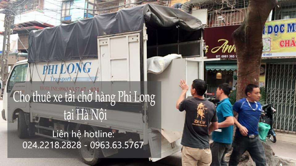 Dịch vụ thuê xe tải tại phố Điện Biên Phủ