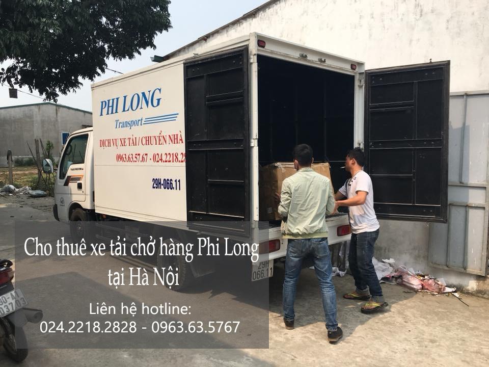 Xe tải chở hàng chuyên nghiệp tại phố Tô Tịch