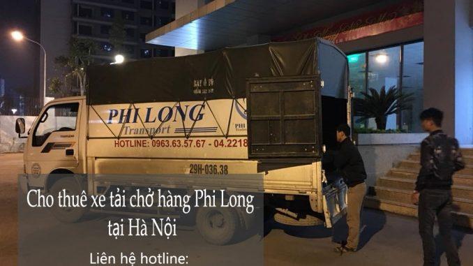 Dịch vụ thuê xe tải tại phố Trung Hòa