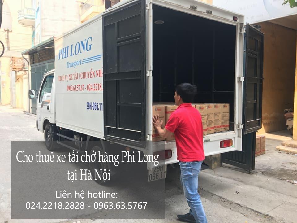 Cho thuê xe tải vận chuyển tại phố Trần Duy Hưng