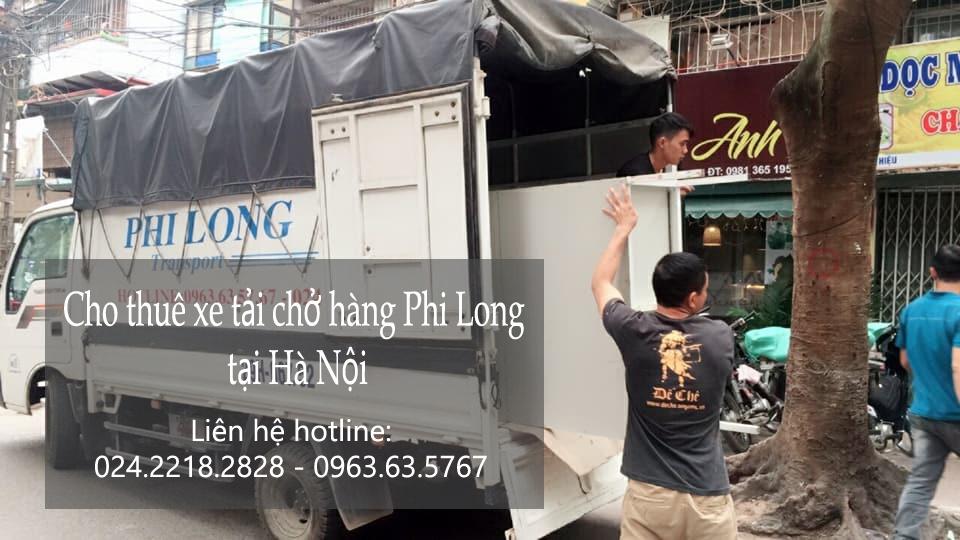 Dịch vụ xe tải giá rẻ tại phố Hoàng Đạo Thúy