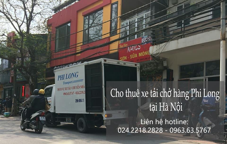 Dịch vụ thuê xe tải tại phố Ngô Văn Sở