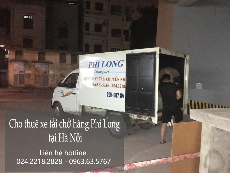 Dịch vụ cho thuê xe tải tại phố Núi Trúc